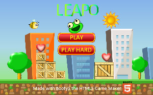 Leapo game HTML5 demo