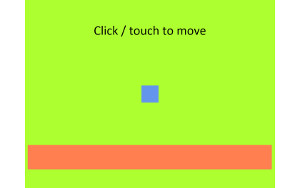 Mouse joint HTML5 demo