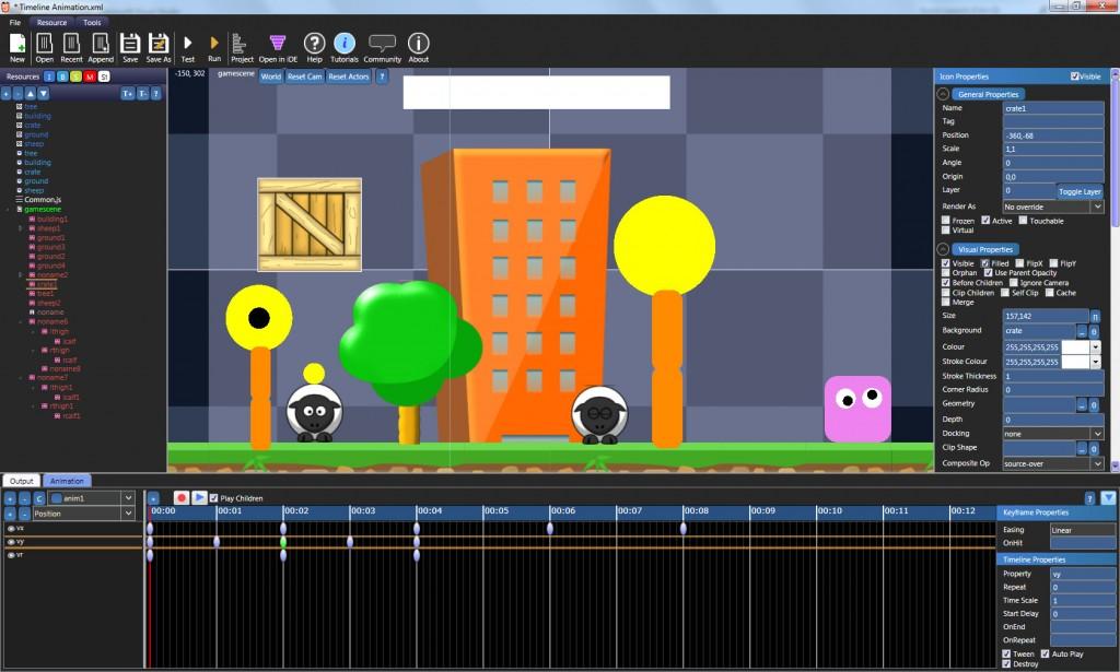 Booty5 HTML5 animation editor